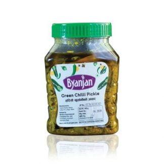 Byanjan Green Chilli Pickle
