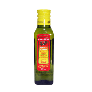 Makarena 100% Pure Olive Oil 250ml Bottle