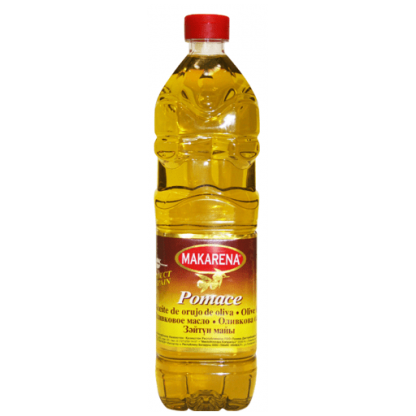 Makarena Pomace Olive oil 1 Ltr Bottle