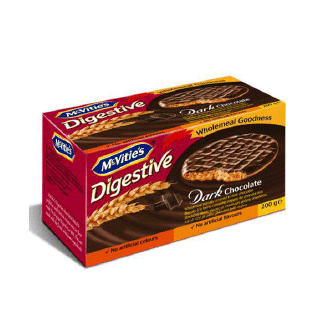 McVities Digestive Dark Choc (UK)
