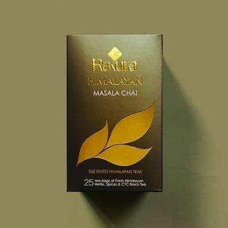 Rakura Himalayan Masala Tea (Masala Chai) 25 Tea Bags Pack