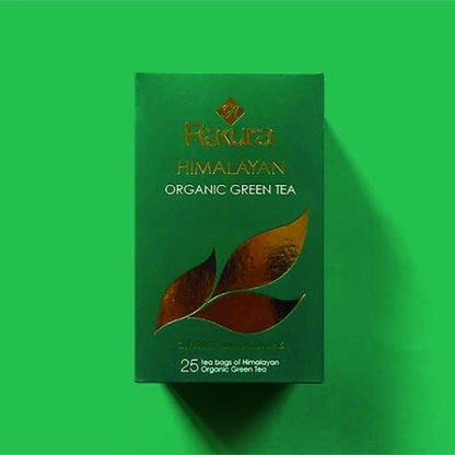Rakura Himalayan Organic Green Tea 25 Tea Bags Pack