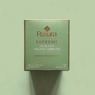 Rakura Supreme Organic Himalayan Green Tea 100 gm