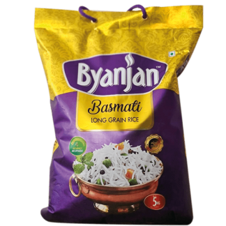 Byanjan Basmati Long Grain Rice 5 Kg price in Nepal
